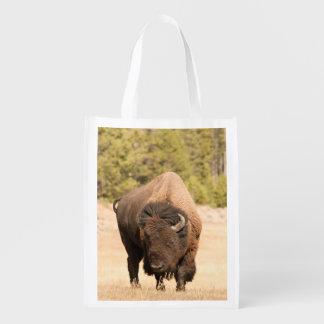 Bison Reusable Grocery Bag