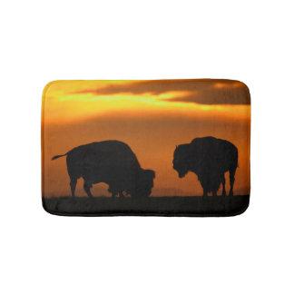 Bison Sunset Bath Mats