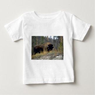 Bison, Upper Geyser Basin, Yellowstone National Pa T Shirt