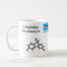 Mug featuring the template Bisphenol A