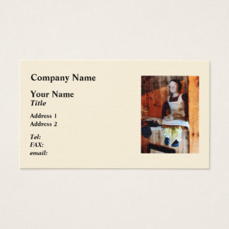 Bisque Doll for Sale Business Card