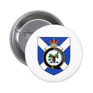 Bisset 6 Cm Round Badge