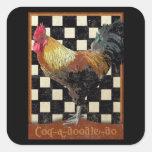 Bisto Rooster Sticker