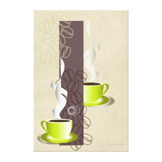 Bistro & Coffee Heaven Canvas Print