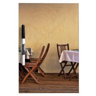 Bistro in France Dry Erase Boards