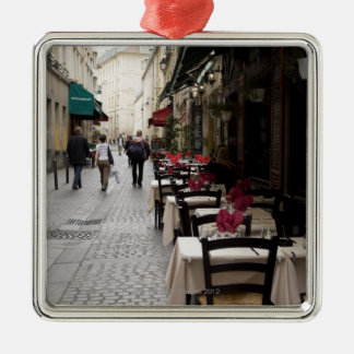 Bistro in Paris 2 Christmas Ornament