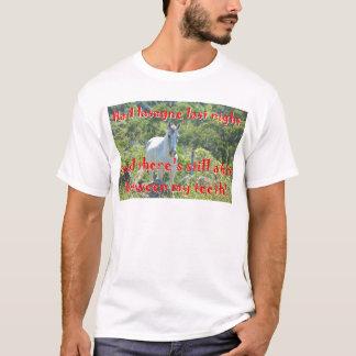 Bit between my teeth. T-Shirt