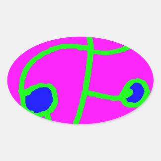 Bit Given 2 Oval Sticker