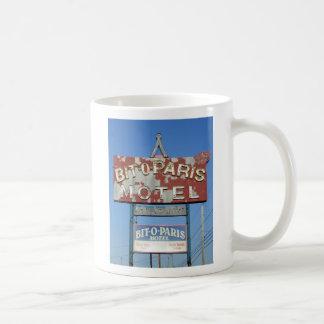 Bit O' Paris Motel Mug, Niagara Falls, NY