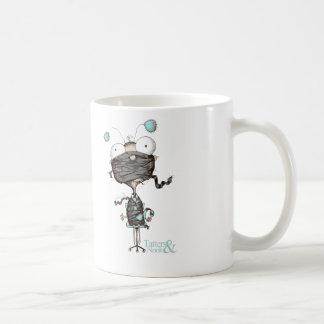 Bit Tied Up - Quirky Teal Design Mug