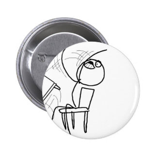 Bitch flip 6 cm round badge