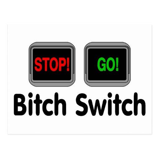 Bitch Switch Postcard