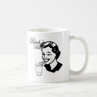 Bitchs Blow Basic White Mug