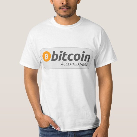 Bitcoin Accept Young stag T-Shirt