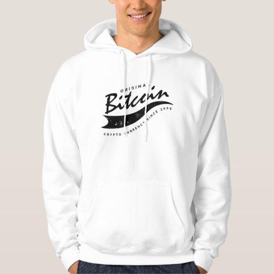 Bitcoin Baseball Logo Design Hoodie