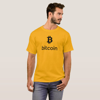 Bitcoin Black Logo T-Shirt