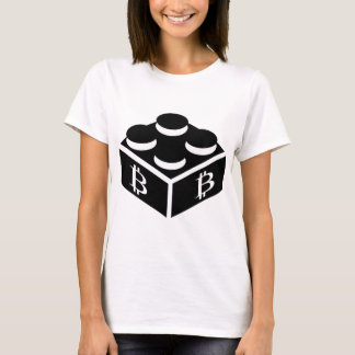 Bitcoin Block / Blockchain T-Shirt