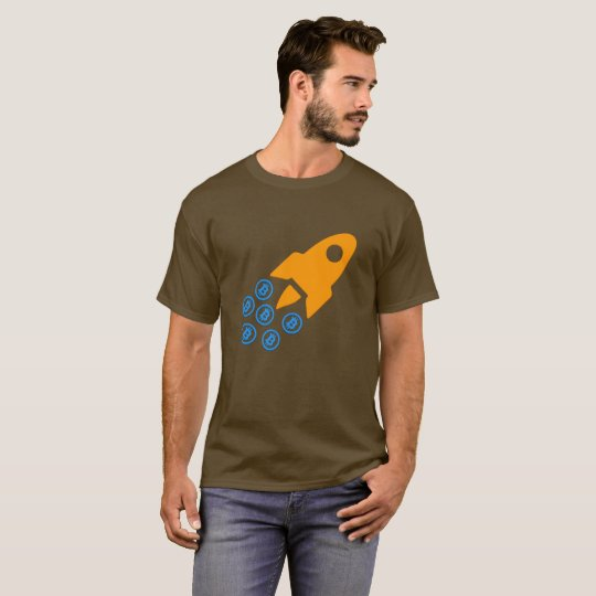 Bitcoin (BTC) Rocket T-shirt