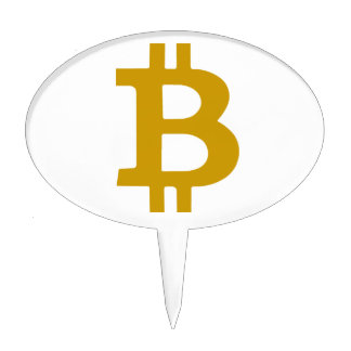 Bitcoin Cake Pick