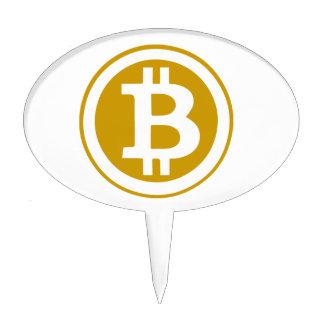 Bitcoin Cake Topper