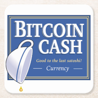 Bitcoin Cash Coasters