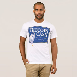 "Bitcoin Cash ""Good to the Last Satoshi"" Shirts"