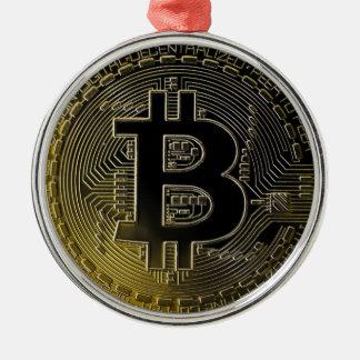 Bitcoin Coins Christmas Ornament