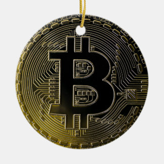 Bitcoin Coins Christmas Ornament