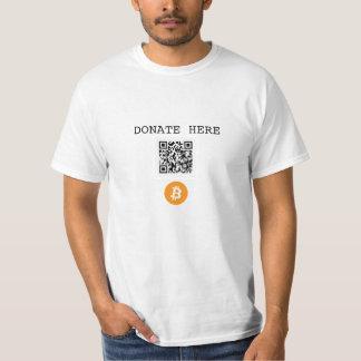 Bitcoin Donate Tee