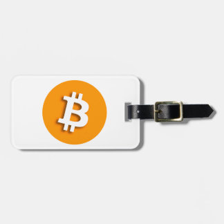 """""""BITCOIN"""" (double-sided) Luggage Tag"""