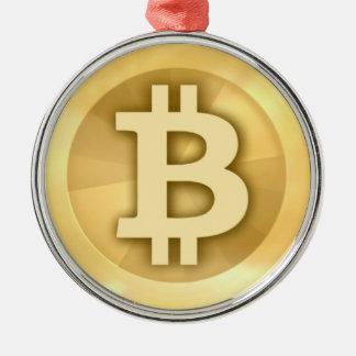 Bitcoin gifts christmas ornament
