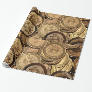 Bitcoin Glossy Wrapping Paper