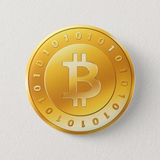 bitcoin_goldv2 6 cm round badge
