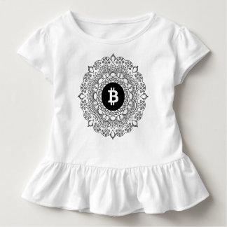 BITCOIN/HENNA-Girl's Ruffle T-Shirt