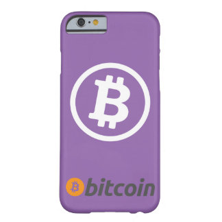 Bitcoin logo barely there iPhone 6 case