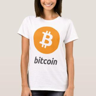 Bitcoin logo with writing T-Shirt