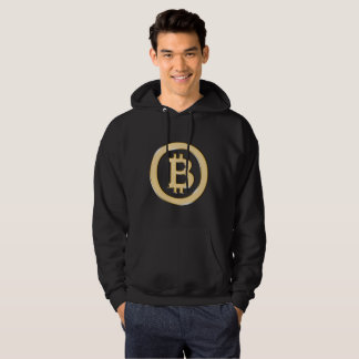 Bitcoin Made of Gold Hoodie
