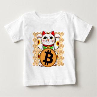 Bitcoin Maneki Neko Lucky Cat 06 Baby T-Shirt