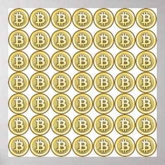 Bitcoin Mania Poster