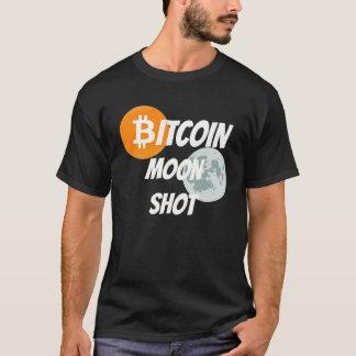 Bitcoin Moon Shot - BTC Blockchain Cyprto T-Shirt