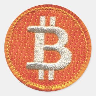 BitCoin Patch Sticker