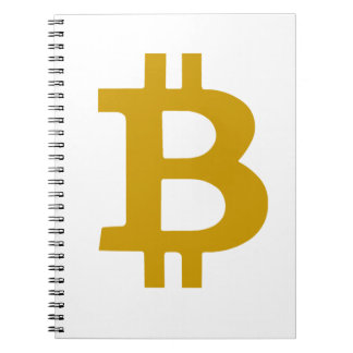 Bitcoin Spiral Note Book