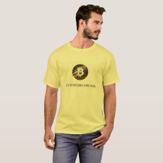Bitcoin - This is not a coin T-Shirt
