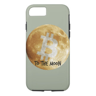 Bitcoin to The Moon iPhone 7 Case