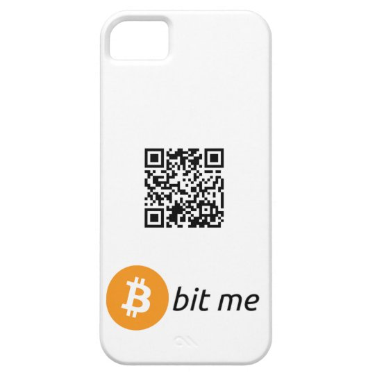 Bitcoin Wallet QR Code iPhone 5/5S Case