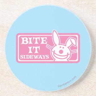 Bite it Sideways Coaster