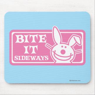 Bite it Sideways Mouse Mat