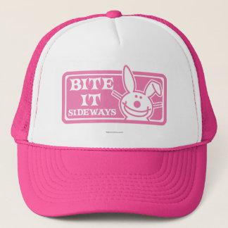 Bite it Sideways Trucker Hat