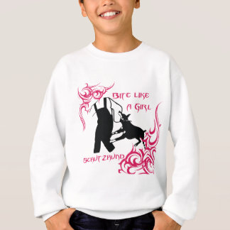 Bite Like a Girl Sweatshirt