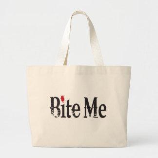 Bite Me (Blood) Jumbo Tote Bag
